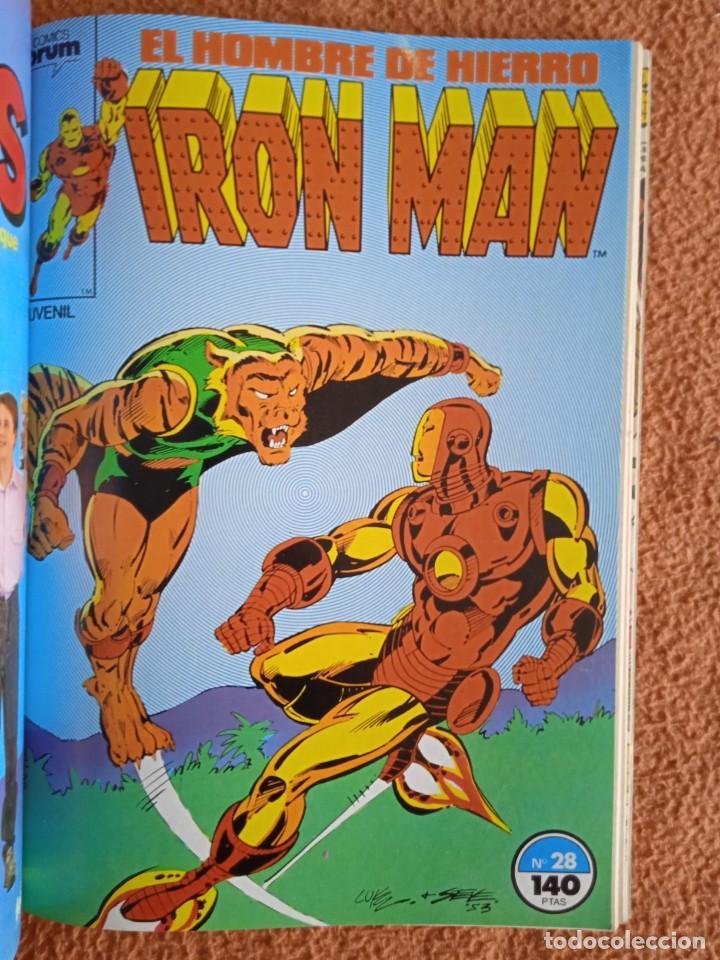 Cómics: IRON MAN EL HOMBRE DE HIERRO 26-27-28-29-30 FORUM - Foto 4 - 268075399