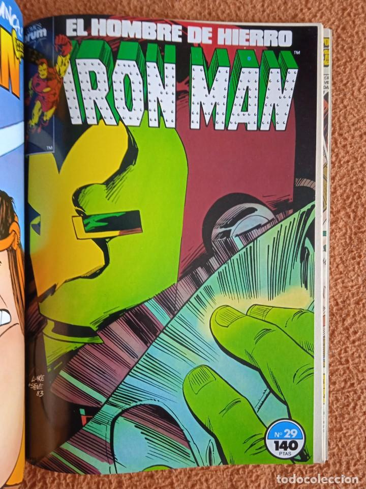Cómics: IRON MAN EL HOMBRE DE HIERRO 26-27-28-29-30 FORUM - Foto 5 - 268075399