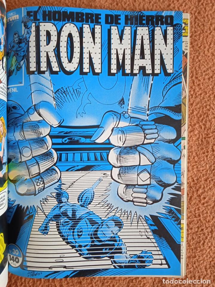 Cómics: IRON MAN EL HOMBRE DE HIERRO 26-27-28-29-30 FORUM - Foto 6 - 268075399