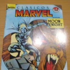 Cómics: CLASICOS MARVEL Nº 8 Y 9 CABALLERO LUNA - COMPLETA FORUM. Lote 268176219