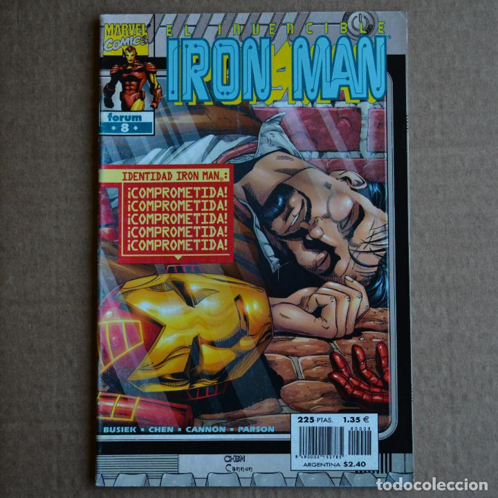 EL INVENCIBLE IRON MAN, Nº 8. FORUM. LITERACOMIC. (Tebeos y Comics - Forum - Iron Man)
