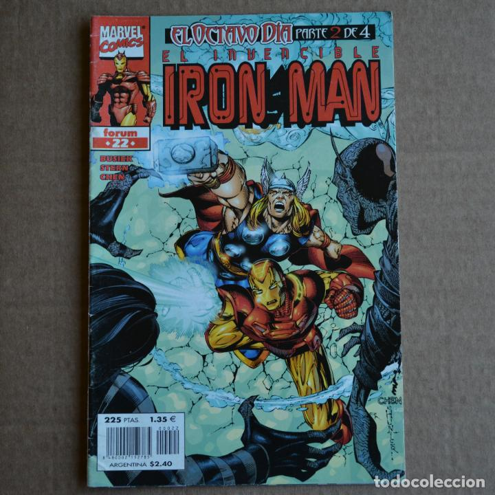 EL INVENCIBLE IRON MAN, Nº 22. FORUM. LITERACOMIC. (Tebeos y Comics - Forum - Iron Man)