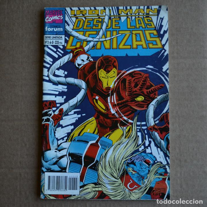 IRON MAN, SERIE LIMITADA Nº 3 DE 8. FORUM. LITERACOMIC. (Tebeos y Comics - Forum - Iron Man)