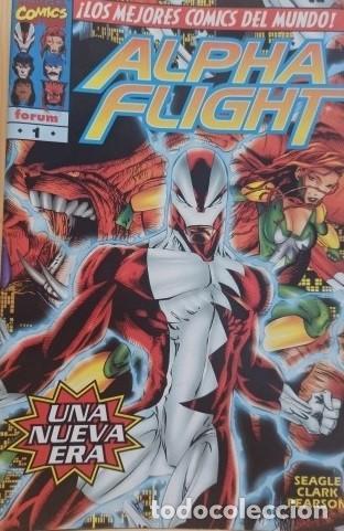 ALPHA FLIGHT VOLUMEN 2 COMPLETA + ESPECIAL ORÍGENES - 21 EJEMPLARES IMPECABLES. (Tebeos y Comics - Forum - Alpha Flight)