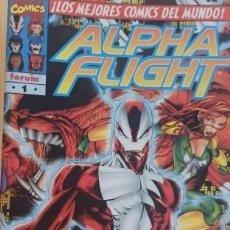 Cómics: ALPHA FLIGHT VOLUMEN 2 COMPLETA + ESPECIAL ORÍGENES - 21 EJEMPLARES IMPECABLES.. Lote 268268569