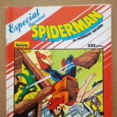 Cómics: SPIDERMAN EL HOMBRE ARAÑA: ESPECIAL NAVIDAD (FORUM, 1988). POR TOM DEFALCO Y RON FRENZ.. Lote 268402044