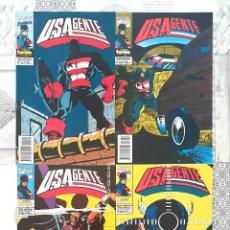 Cómics: U.S.AGENTE DE MARK GRUENWALD. SERIE LIMITADA DE 4 COMICS. FORUM 1994. Lote 268415234