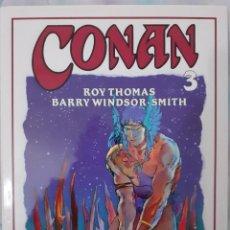 Cómics: CONAN Nº 3 - COLECCIÓN ROY THOMAS Y BARRY WINDSOR-SMITH. Lote 268426254