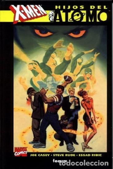X-MEN: HIJOS DEL ATOMO (JOE CASEY, STEVE RUDE, ESSAD RIBIC ). FORUM - TAPA DURA (Tebeos y Comics - Forum - Prestiges y Tomos)