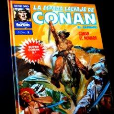 Cómics: CASI EXCELENTE ESTADO 2° SEGUNDA EDICION LA ESPADA SALVAJES DE CONAN 1 SUPER CONAN COMICS FORUM. Lote 268606804