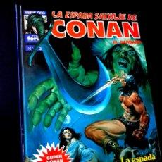 Cómics: MUY BUEN ESTADO 2° SEGUNDA EDICION LA ESPADA SALVAJES DE CONAN 3 SUPER CONAN COMICS FORUM. Lote 268607339