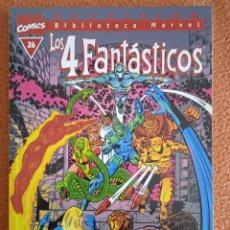 Cómics: BIBLIOTECA MARVEL LOS 4 FANTASTICOS 26 FORUM. Lote 268932569