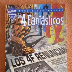 Cómics: BIBLIOTECA MARVEL LOS 4 FANTASTICOS 27 FORUM. Lote 268932654