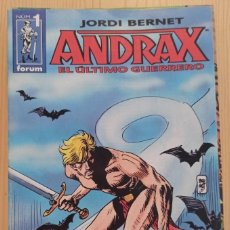 Cómics: ANDRAX DE JORDI BERNET COLECCION FORUM 14 NUMEROS COMPLETA DE KIOSKO. Lote 268950274