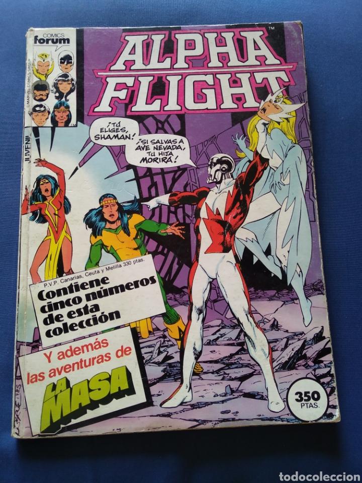 TOMO RETAPADO ALPHA FLIGHT LA MASA # 27 28 29 30 Y 31 FORUM (Tebeos y Comics - Forum - Alpha Flight)