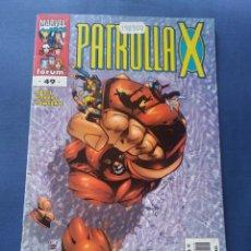 Cómics: PATRULLA X # 49 VOLUMEN 2 FORUM. Lote 264476164