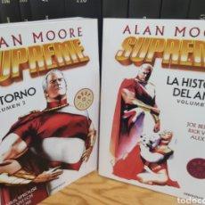 Cómics: SUPREME DE ALAN MOORE (2 TOMOS, COMPLETO). Lote 269000199