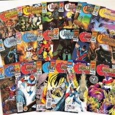 Cómics: LOS CABALLEROS DE PENDRAGÓN COMPLETA 18 NºS ~ MARVEL UK / FORUM (1992). Lote 269007054
