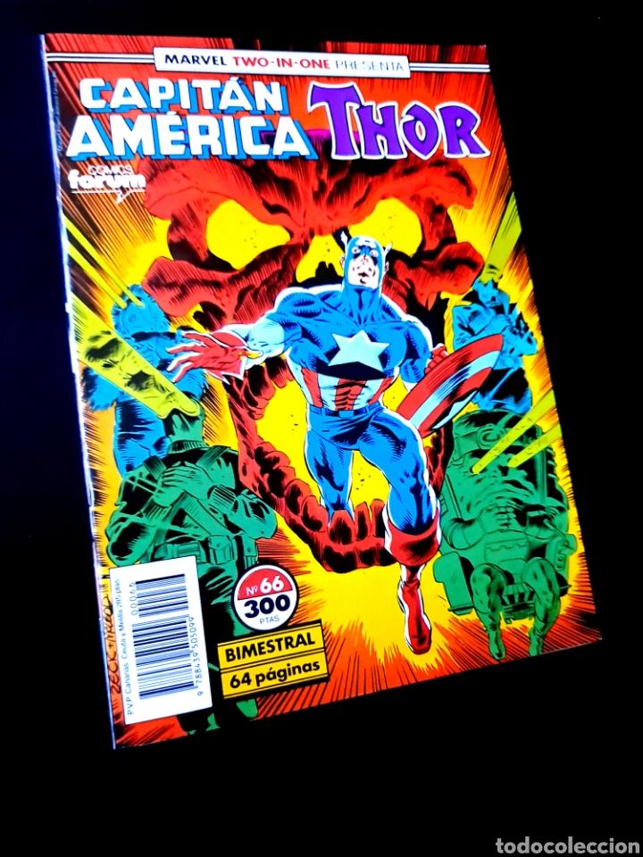 DE KIOSCO CAPITAN AMERICA 66 COMICS FORUM (Tebeos y Comics - Forum - Capitán América)