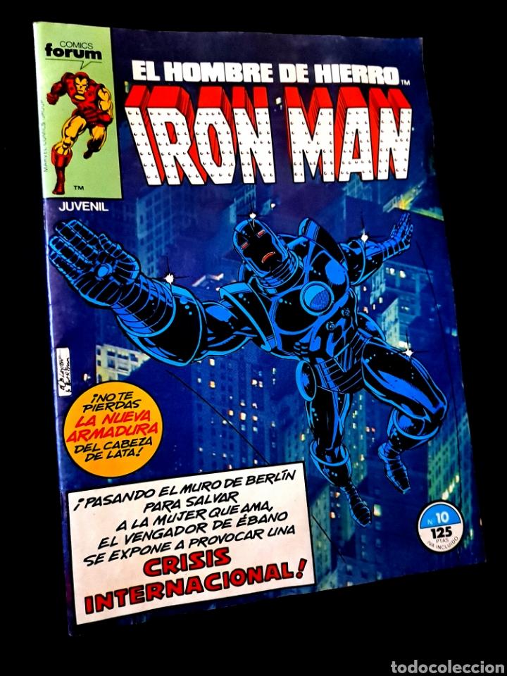 MUY BUEN ESTADO IRON MAN 10 COMICS FORUM (Tebeos y Comics - Forum - Iron Man)