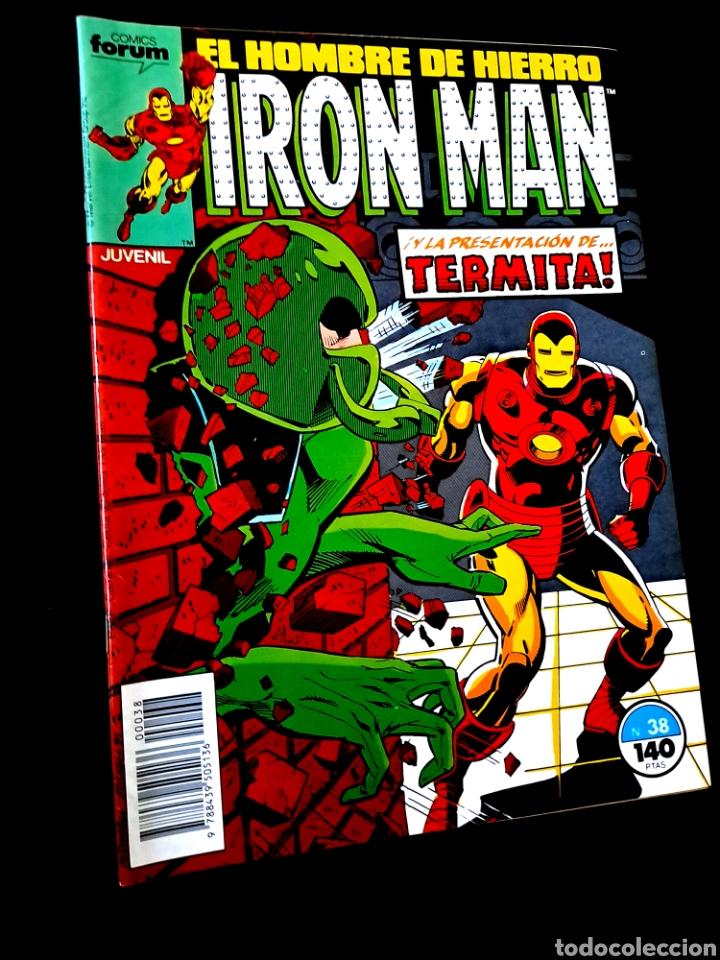 EXCELENTE ESTADO IRON MAN 38 COMICS FORUM (Tebeos y Comics - Forum - Iron Man)