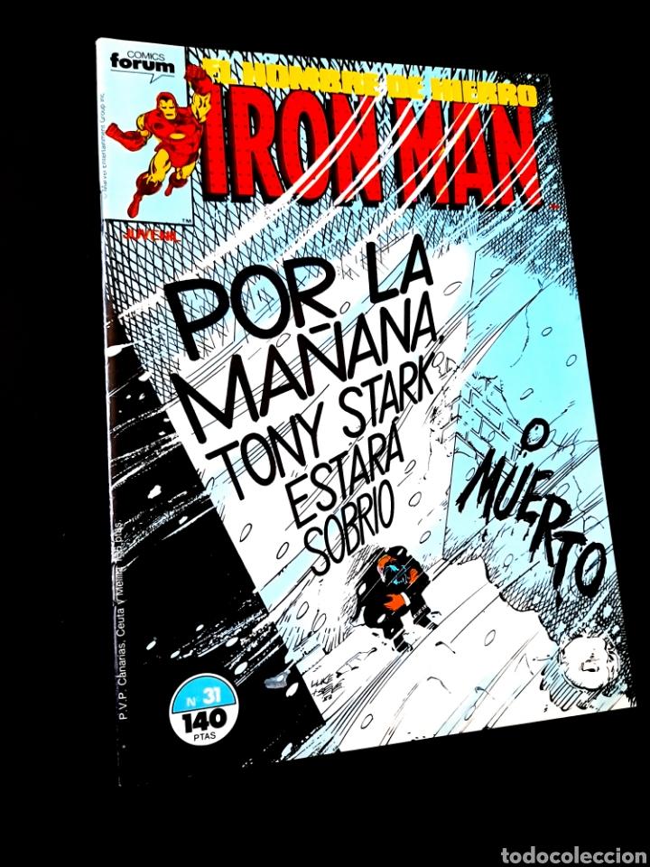 EXCELENTE ESTADO IRON MAN 31 COMICS FORUM (Tebeos y Comics - Forum - Iron Man)