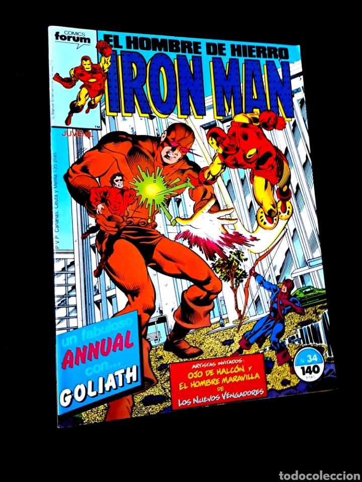 EXCELENTE ESTADO IRON MAN 34 COMICS FORUM (Tebeos y Comics - Forum - Iron Man)