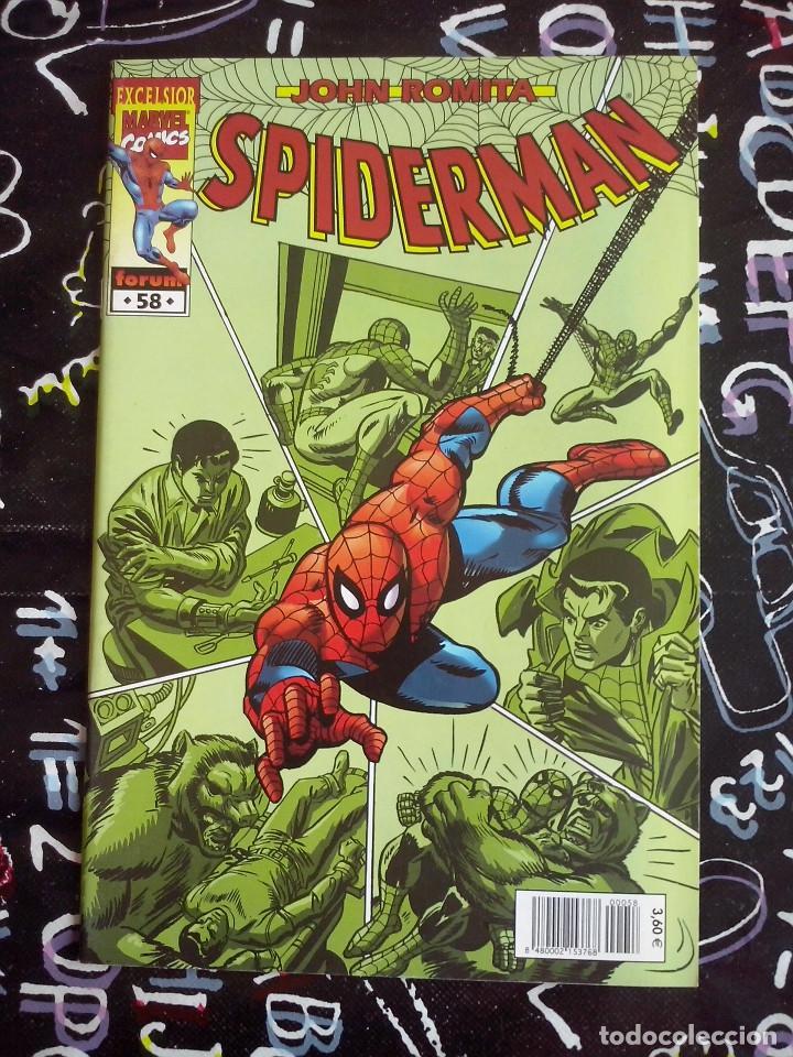 FORUM - SPIDERMAN ROMITA NUM. 58 . MUYY BUEN ESTADO (Tebeos y Comics - Forum - Spiderman)