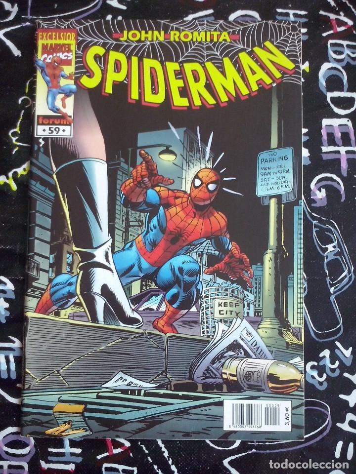 FORUM - SPIDERMAN ROMITA NUM. 59 . MUYY BUEN ESTADO (Tebeos y Comics - Forum - Spiderman)