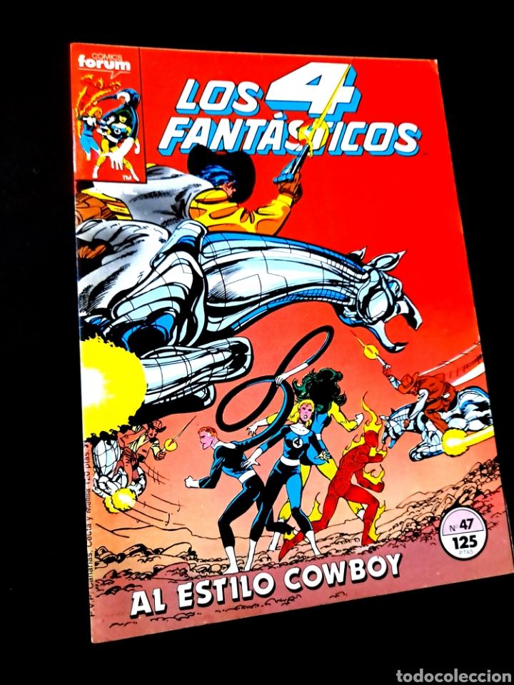 EXCELENTE ESTADO LOS 4 FANTASTICOS 47 COMICS FORUM (Tebeos y Comics - Forum - 4 Fantásticos)