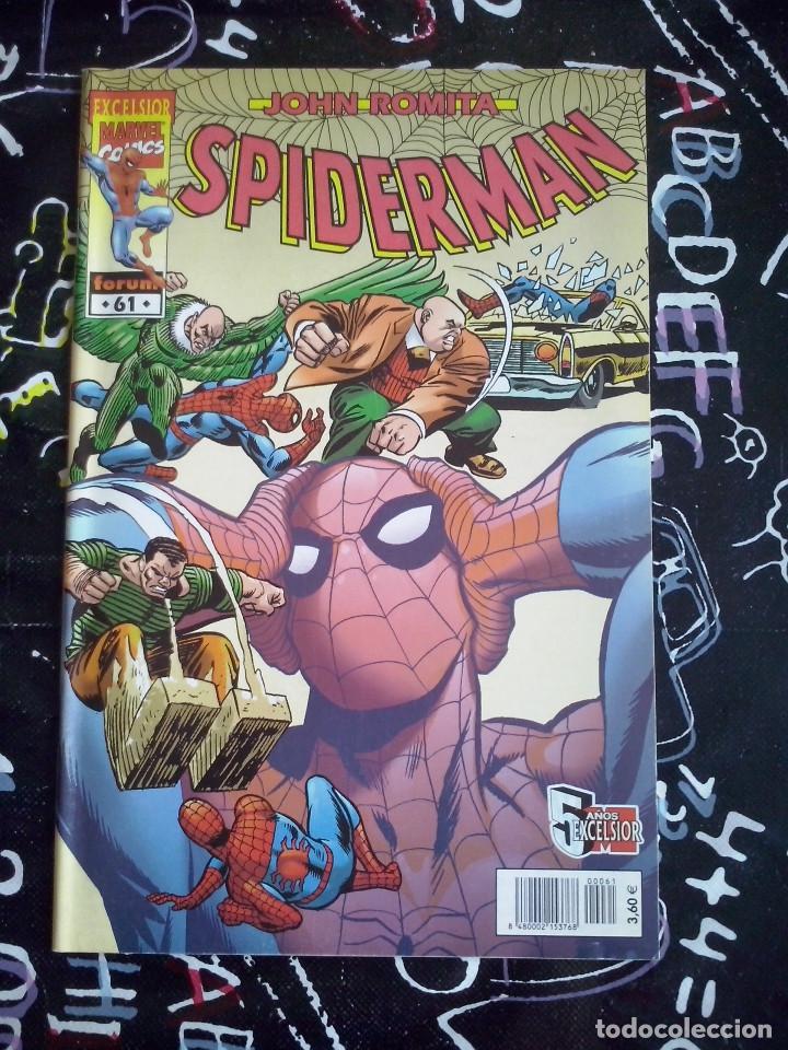 FORUM - SPIDERMAN ROMITA NUM. 61 . MUYY BUEN ESTADO (Tebeos y Comics - Forum - Spiderman)