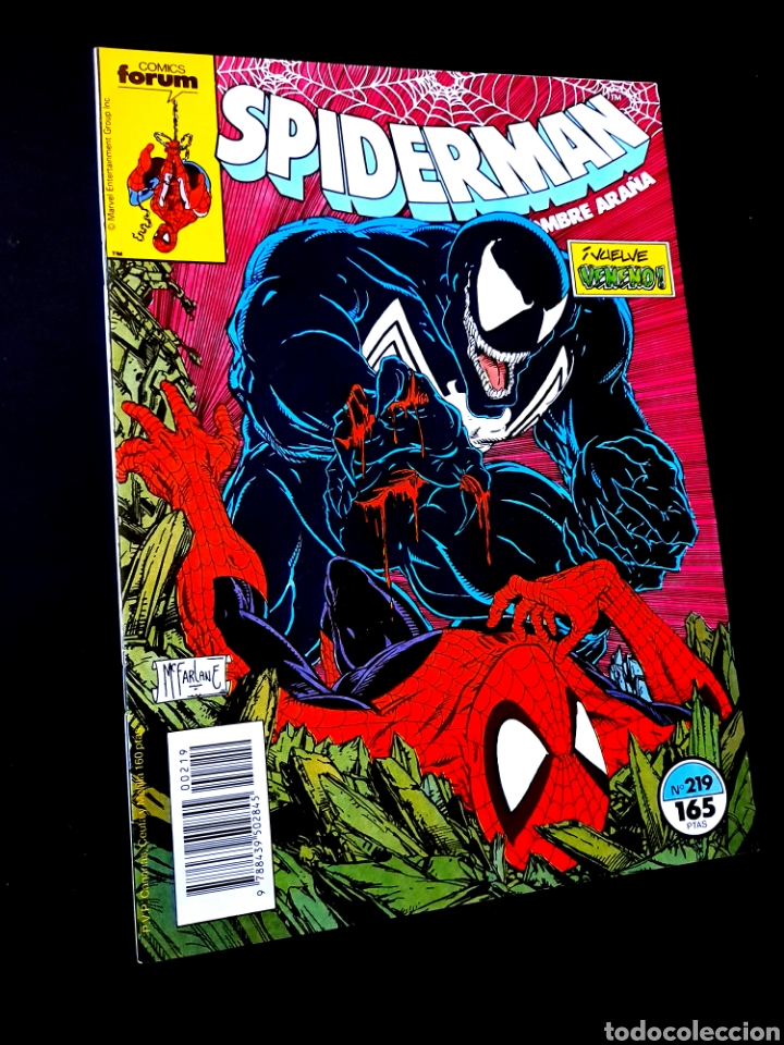 EXCELENTE ESTADO LOS 4 FANTASTICOS 219 COMICS FORUM (Tebeos y Comics - Forum - Spiderman)