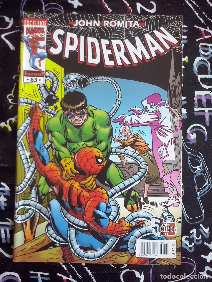 FORUM - SPIDERMAN ROMITA NUM. 63 . MUYY BUEN ESTADO (Tebeos y Comics - Forum - Spiderman)