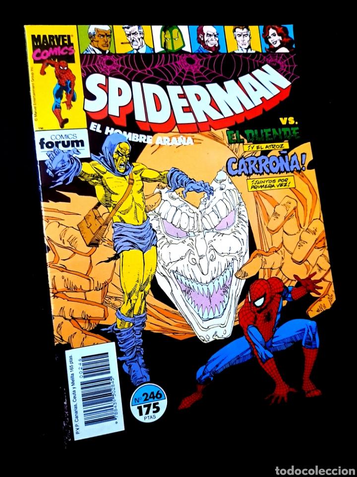 EXCELENTE ESTADO LOS 4 FANTASTICOS 246 COMICS FORUM (Tebeos y Comics - Forum - Spiderman)