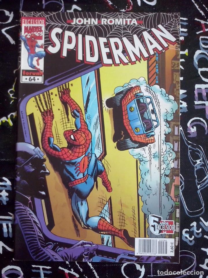 FORUM - SPIDERMAN ROMITA NUM. 64 . MUYY BUEN ESTADO (Tebeos y Comics - Forum - Spiderman)