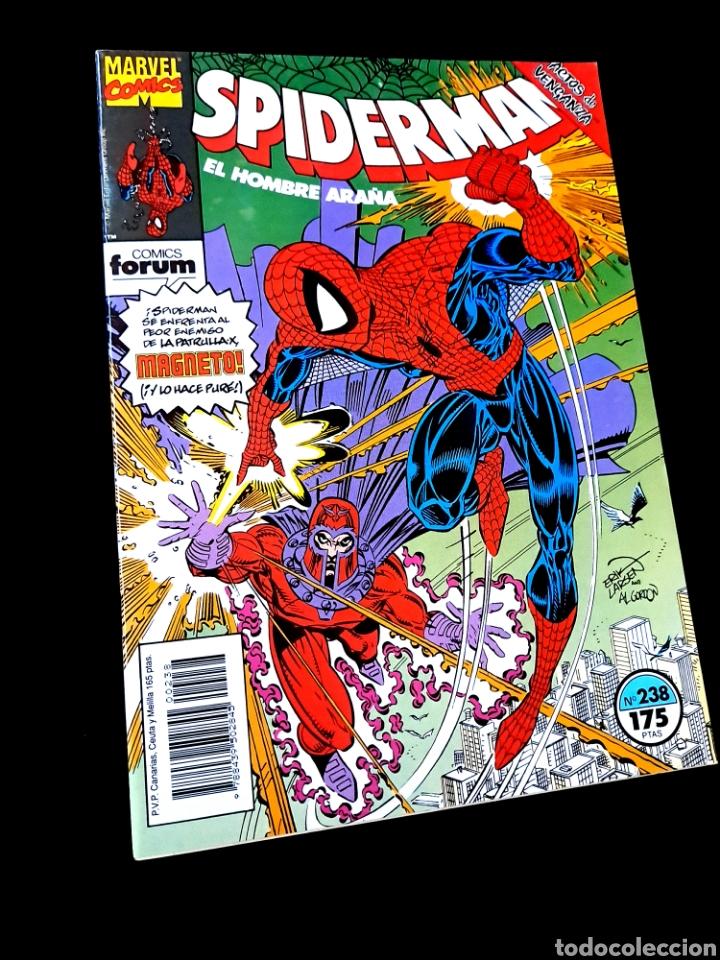 EXCELENTE ESTADO LOS 4 FANTASTICOS 238 COMICS FORUM (Tebeos y Comics - Forum - Spiderman)