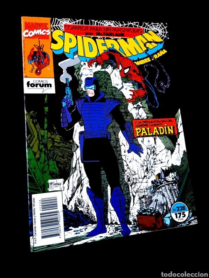 EXCELENTE ESTADO LOS 4 FANTASTICOS 228 COMICS FORUM (Tebeos y Comics - Forum - Spiderman)