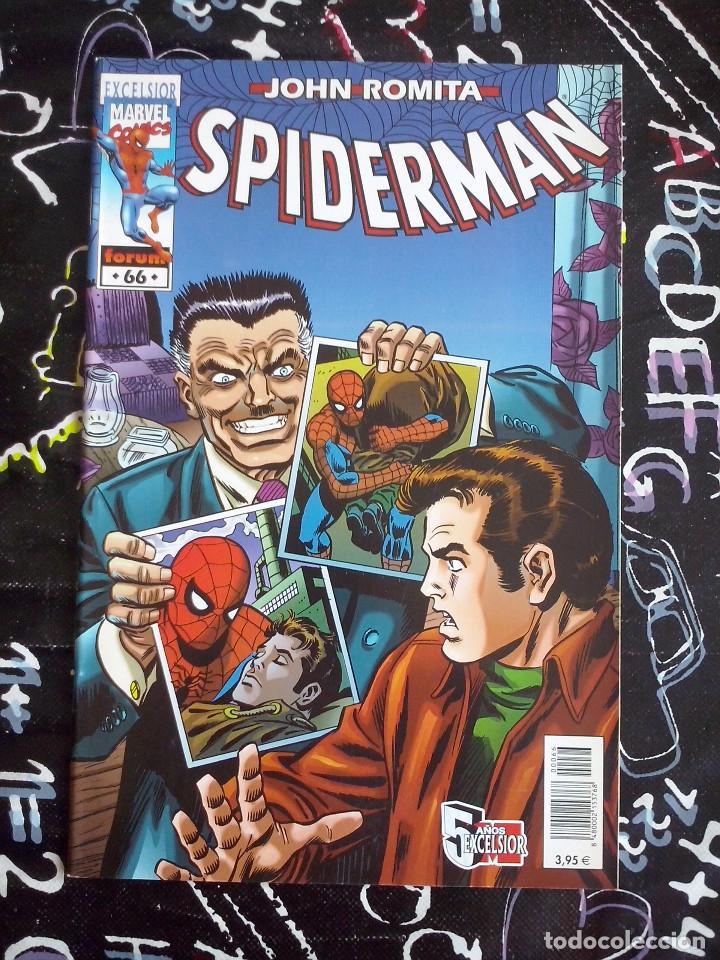 FORUM - SPIDERMAN ROMITA NUM. 66 . MUYY BUEN ESTADO (Tebeos y Comics - Forum - Spiderman)
