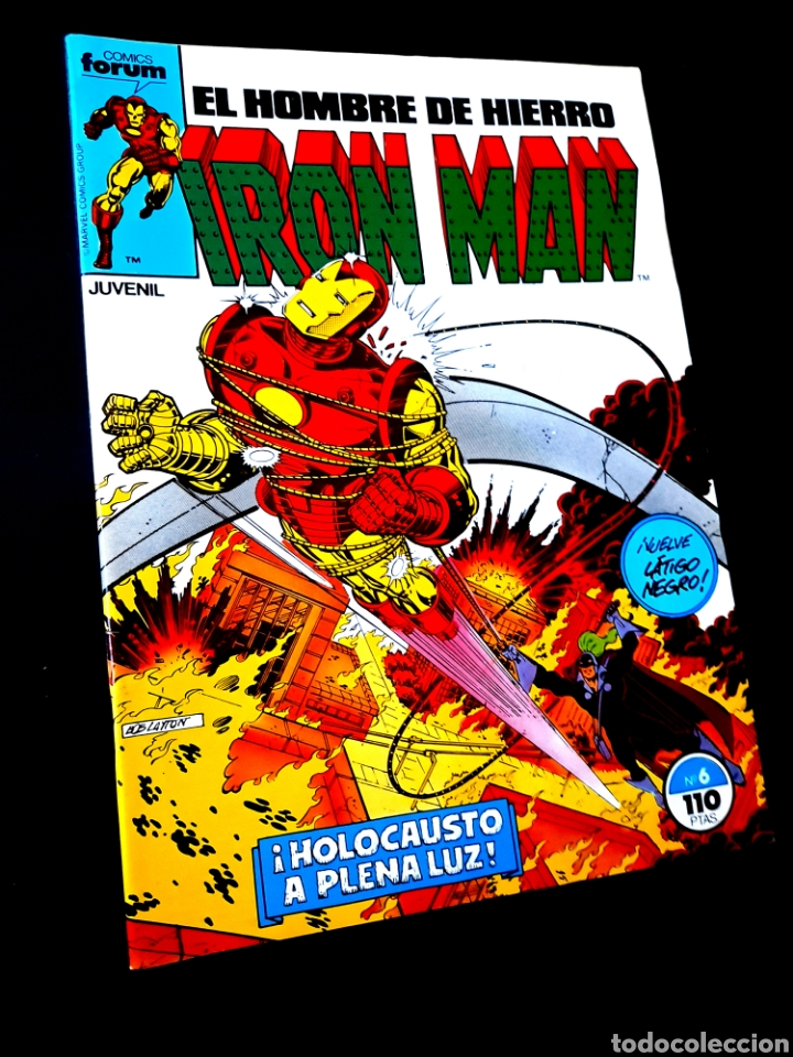 EXCELENTE ESTADO IRON MAN 6 COMICS FORUM (Tebeos y Comics - Forum - Iron Man)