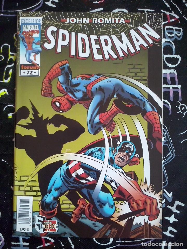 FORUM - SPIDERMAN ROMITA NUM. 72 . MUYY BUEN ESTADO (Tebeos y Comics - Forum - Spiderman)