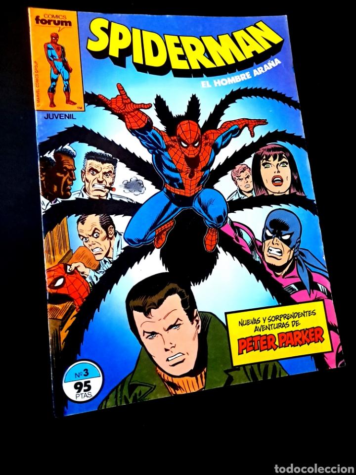CASI EXCELENTE ESTADO SPIDERMAN 3 COMICS FORUM (Tebeos y Comics - Forum - Spiderman)