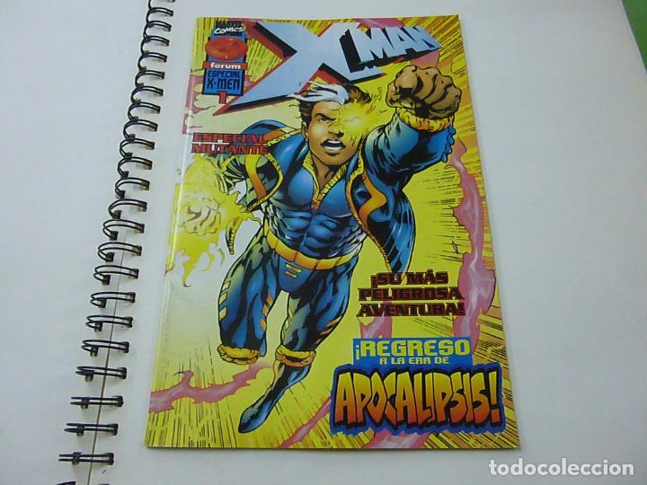 XMAN ESPECIAL 1 REGRESO A LA ERA DE APOCALIPSIS FORUM -N 9 (Tebeos y Comics - Forum - X-Men)