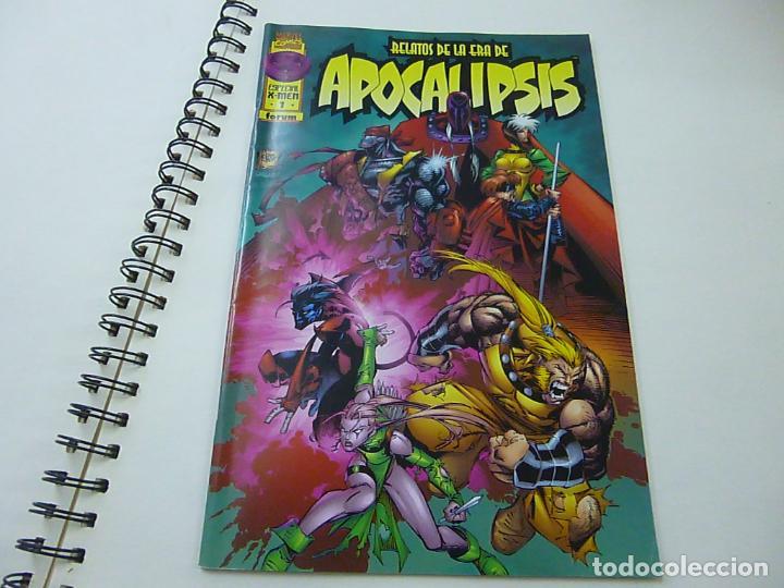 RELATOS DE LA ERA DE APOCALIPSIS, Nº 1. FORUM. ESPECIAL X-MEN -N 9 (Tebeos y Comics - Forum - X-Men)