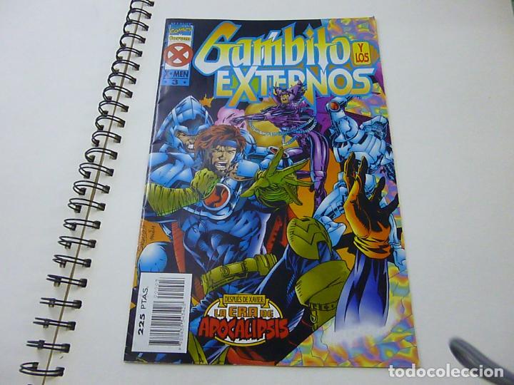 LA ERA DE APOCALIPSIS. GAMBITO Y LOS EXTERNOS Nº 3 FORUM- N 9 (Tebeos y Comics - Forum - X-Men)