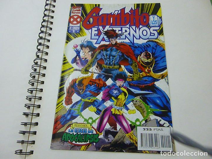 LA ERA DE APOCALIPSIS. GAMBITO Y LOS EXTERNOS Nº 1 FORUM- N 9 (Tebeos y Comics - Forum - X-Men)