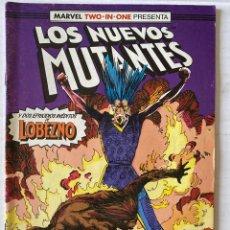Cómics: LOS NUEVOS MUTANTES 44 - MARVEL TWO IN ONE FORUM. Lote 269142038