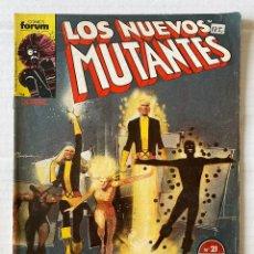 Cómics: LOS NUEVOS MUTANTES 21 - FORUM. Lote 269142938