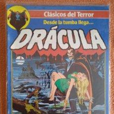 Cómics: CLASICOS DEL TERROR DESDE LA TUMBA LLEGA....DRACULA 1. Lote 269248573