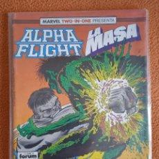 Cómics: MARVEL TWO IN ONE ALPHA FLIGHT LA MASA 51 FORUM. Lote 269251163