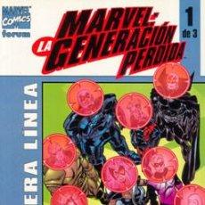 Fumetti: MARVEL LA GENERACION PERDIDA NUMS. 1 AL 3. Lote 269263378